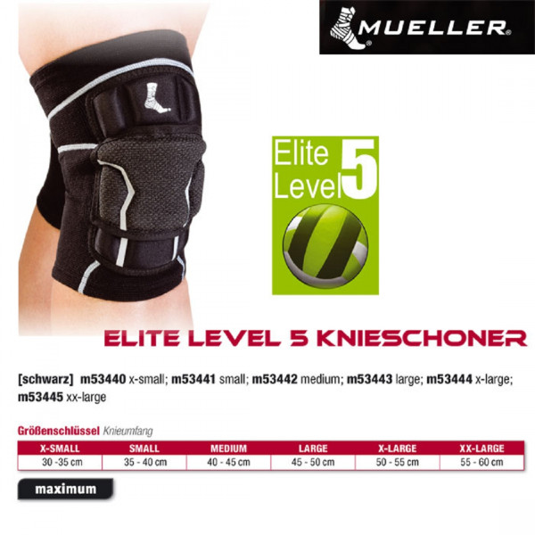 MUELLER Elite Level 5 Knieschoner