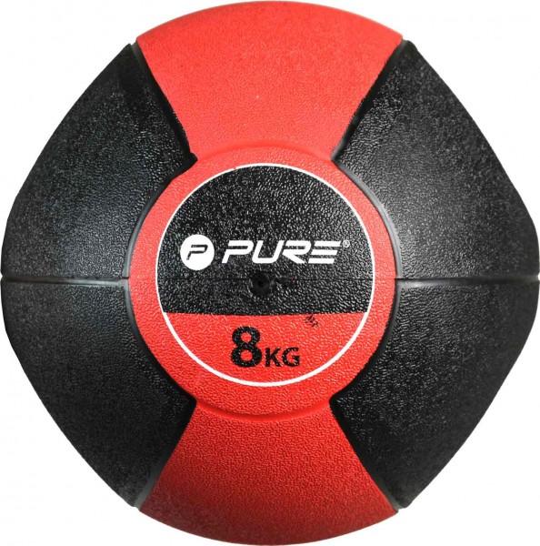 Original Pure 2Improve Medizinball mit Griffen 8 kg | 8 kg