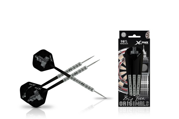 XQ Max Benito van de Pas original 90% Tungsten Steel Darts