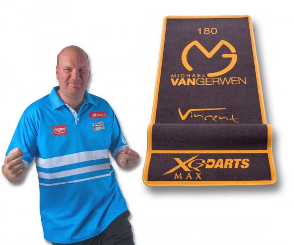 XQMAX Michael van Gerwen /Vincent van der Voort Dart Matte