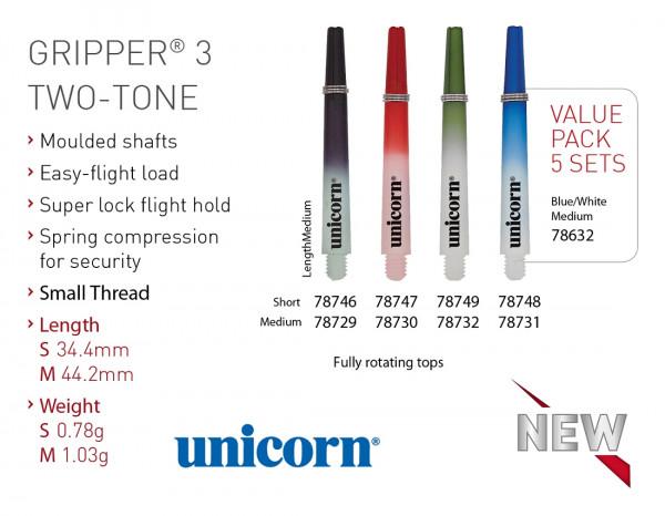 Unicorn Gripper 3 TWO-TONE Shaft