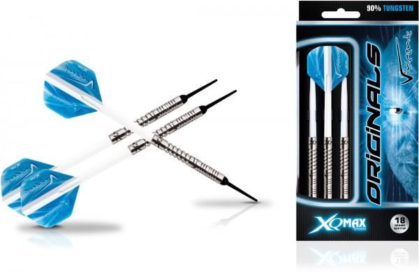 XQ MAX Vincent van der Voort original 90% Tungsten Soft Darts | 18 Gr.