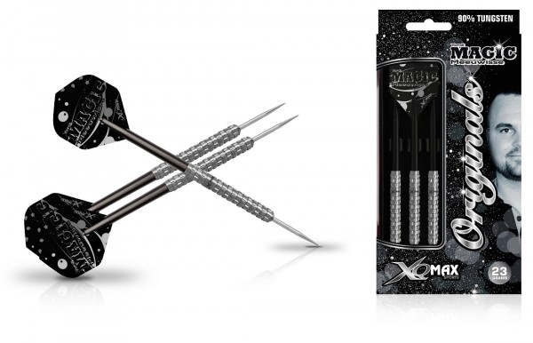 "XQ MAX Yordi ""Magic"" Meeuwisse original 90% Tungsten Steel Darts"