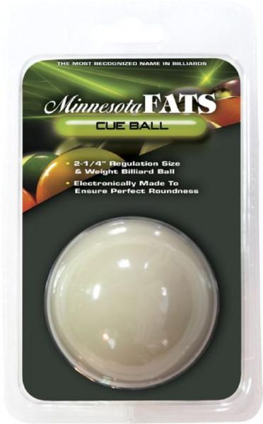Spielball Pool weiß | 60,3 mm