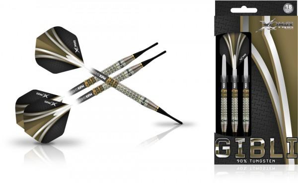 XQ MAX Gibli 90% Tungsten Dartset Softip | 18 Gr.