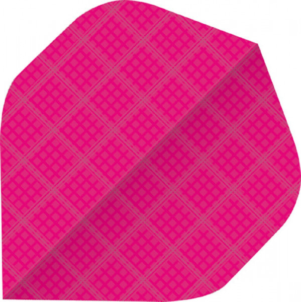 BULL'S 6-Pack Nylon Flights | A-Std/Pink