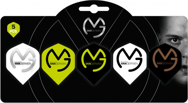 XQ Max Michael van Gerwen Flights Multi Pack Sortiment | Standard A