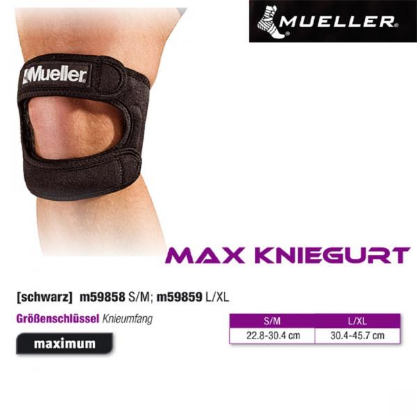 MUELLER MAX Kniegurt