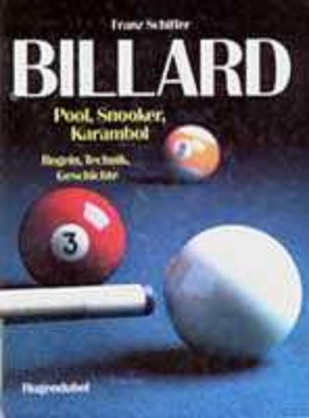"Buch: ""Billard"" Hugendubel"