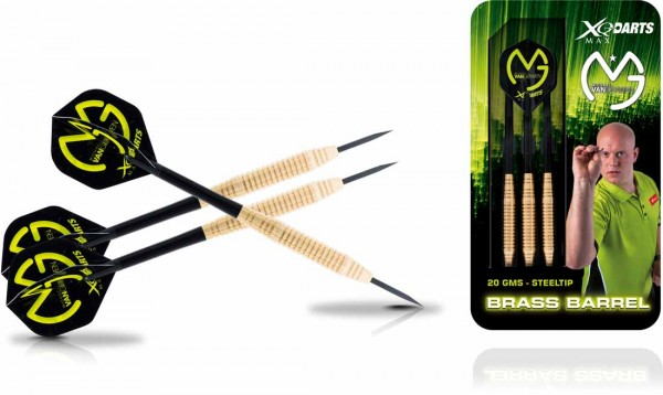 Michael van Gerwen Brass Steel Darts | 20 Gr.