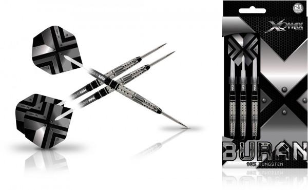 XQ MAX Buran 90% Tungsten Dartset Steeltip