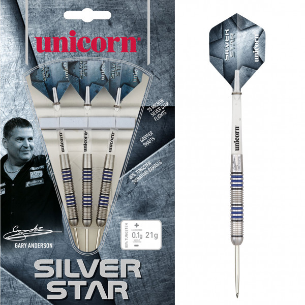 Unicorn Silver Star Gary Anderson Steel Darts
