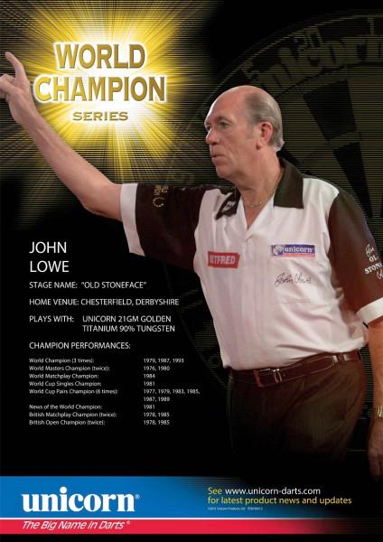 Unicorn Poster Player Statistics John Lowe