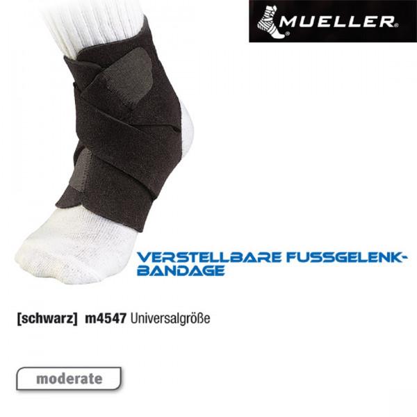 MUELLER Verstellbare Fußgelenkbandage | Universal