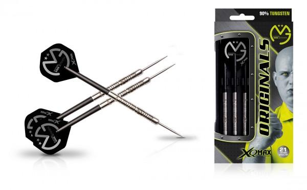 XQ MAX Michael van Gerwen original Steel Darts 90% Tungsten
