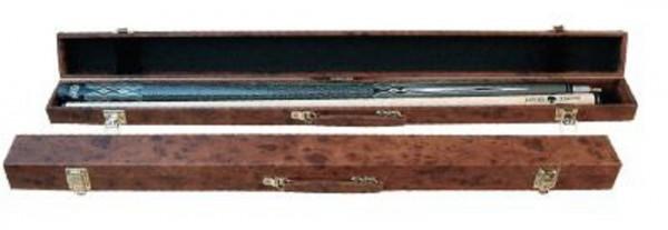 Queue-Koffer Wurzelholzdesign für 1 Queue