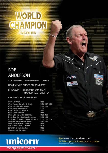 Unicorn Poster Player Statistics Bob Anderson
