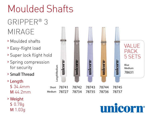 Unicorn Gripper 3 Mirage Shaft