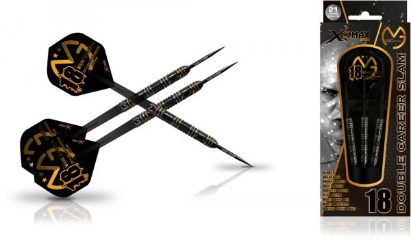 XQMax Michael van Gerwen Double Career Slam Edition 90% Tungsten Steel Darts