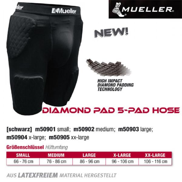 MUELLER Diamond Pad 5-Pad Hose