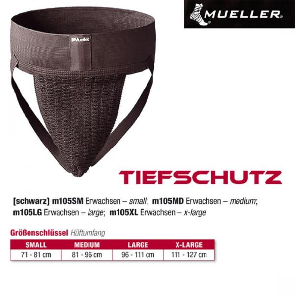 MUELLER Tiefschutz schwarz