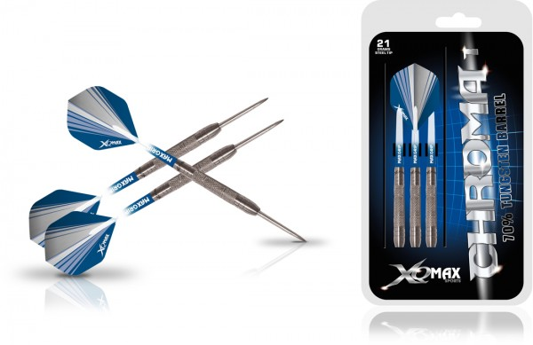 XQ MAX Chroma 70% Tungsten Dartset Steeltip