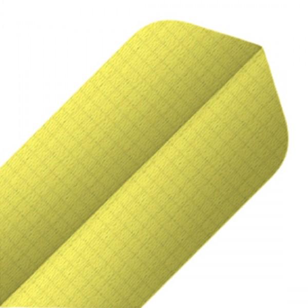 BULL'S 6-Pack Nylon Flights | Slim/Gelb