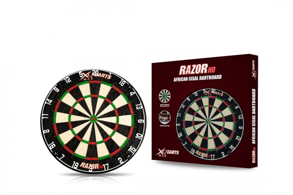 XQMax Bristle Dart Board Razor HD