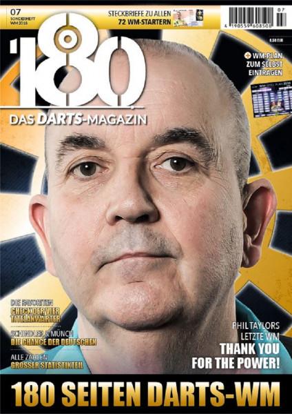 """""""180"""" Das Dart-Magazin - Sonderheft WM 2018"""