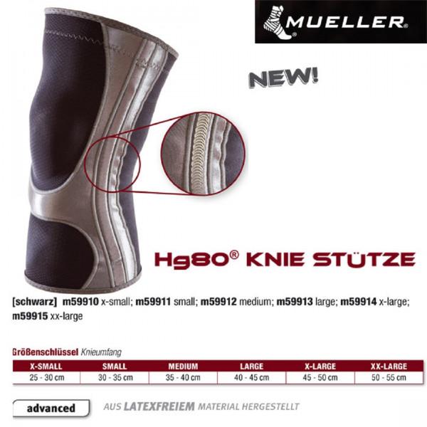 MUELLER Hg80 Knie Stütze