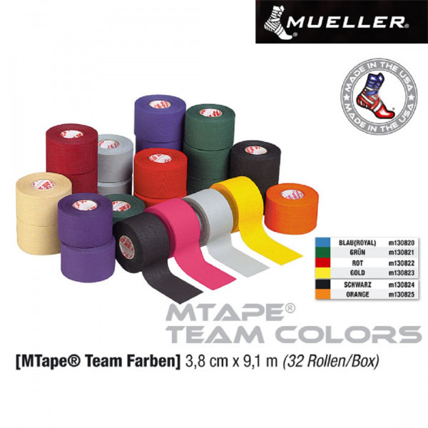 MUELLER MTAPE Team Colors