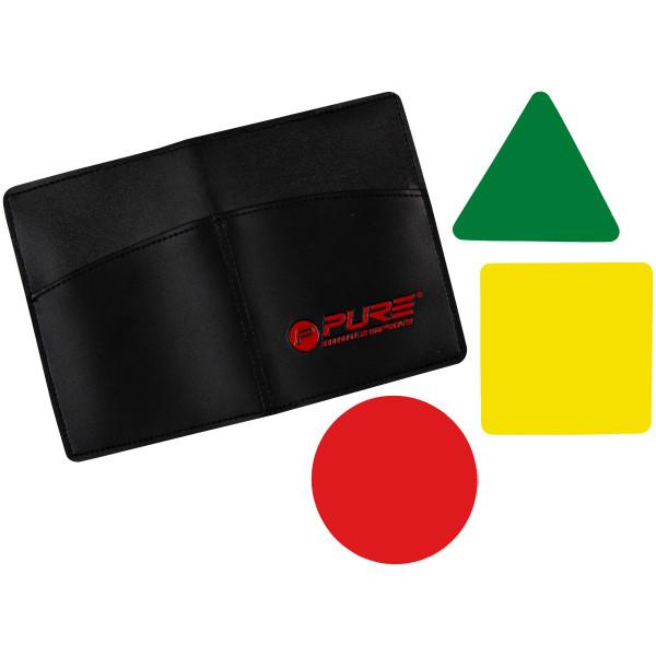 Original Pure 2 Improve Rote/Gelbe/Grüne Karten Set