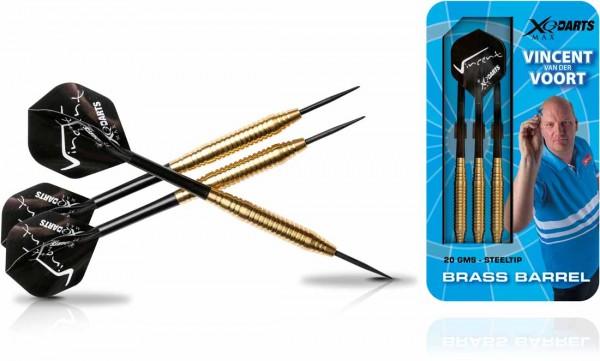 Vincent van der Voort Brass Steel Darts | 20 Gr.