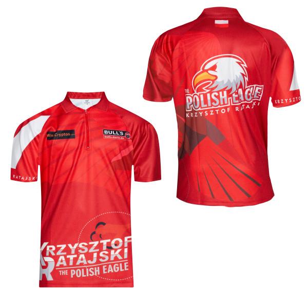 BULL'S Dart-Shirt Krzysztof Ratajski 2020 Edition