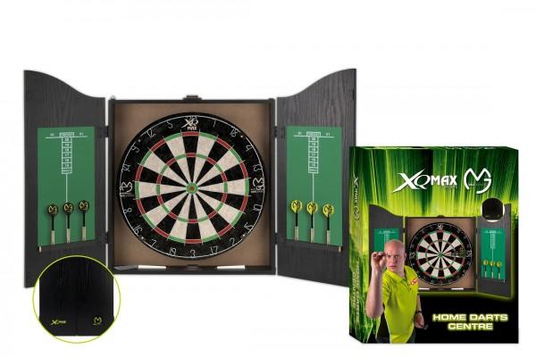 XQM MvG Home Dart Center Bristle Board Set