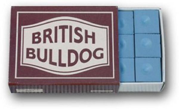 British Bulldog Kreide blau