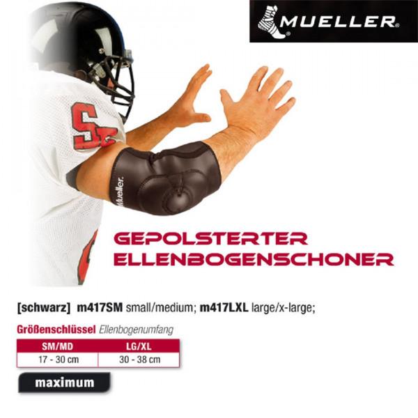 MUELLER Gepolsterter Ellenbogenschoner | S/M